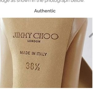 SPOTTING REAL JIMMY CHOO'S FROM FAKE